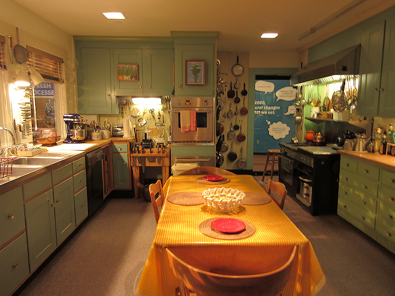Julia Child's Kitchen in Washington DC American History Museum
