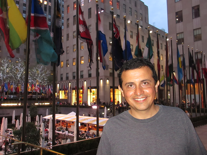 Hector at Rockefeller Center