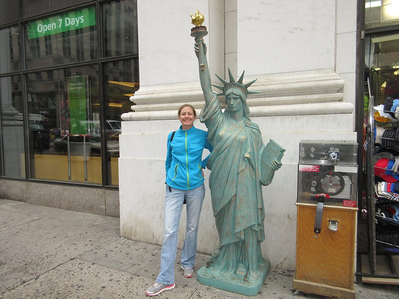 Christi in the Big Apple