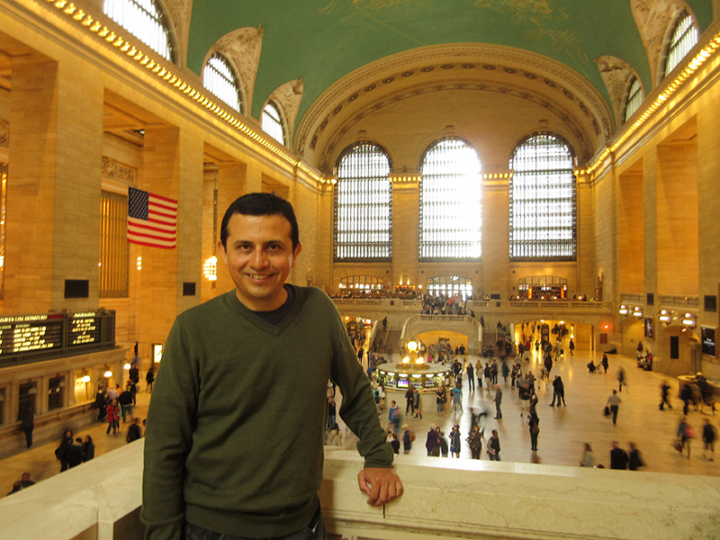 Hector at Grand Central Station