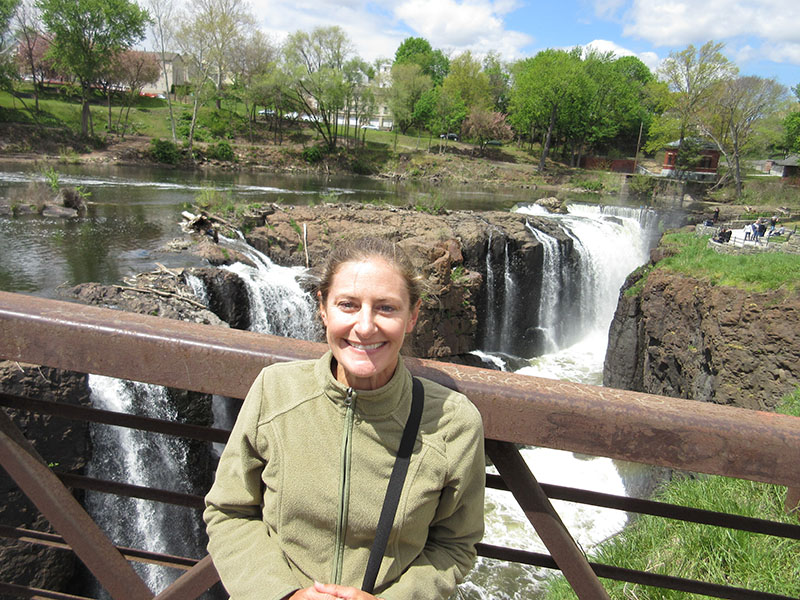 Christi at Paterson Great Falls Historical Park