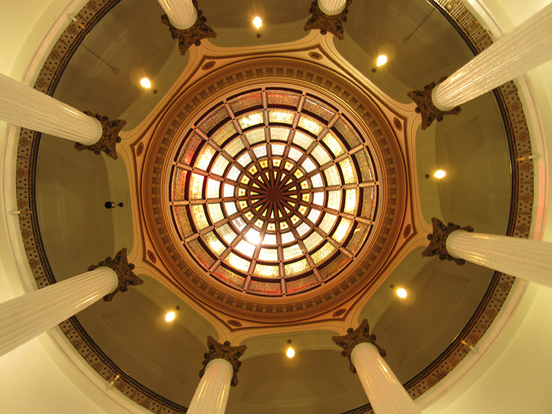 Paterson New Jersey Courthouse rotunda