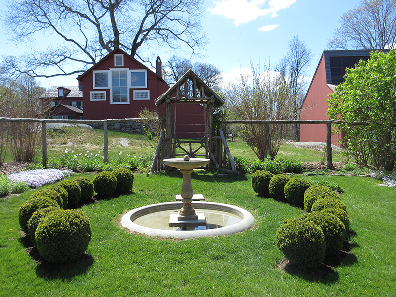 Garden at Weir Farm