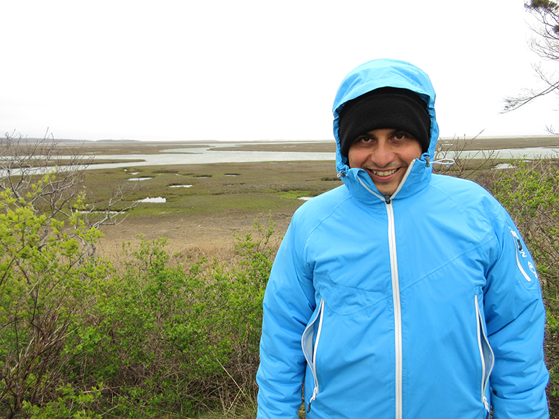 Hector at Cape Cod National Seashore