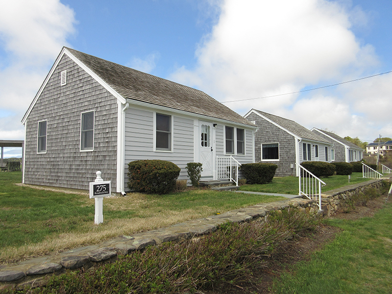 Cape Cod cottages near Wellfleet, Mass.