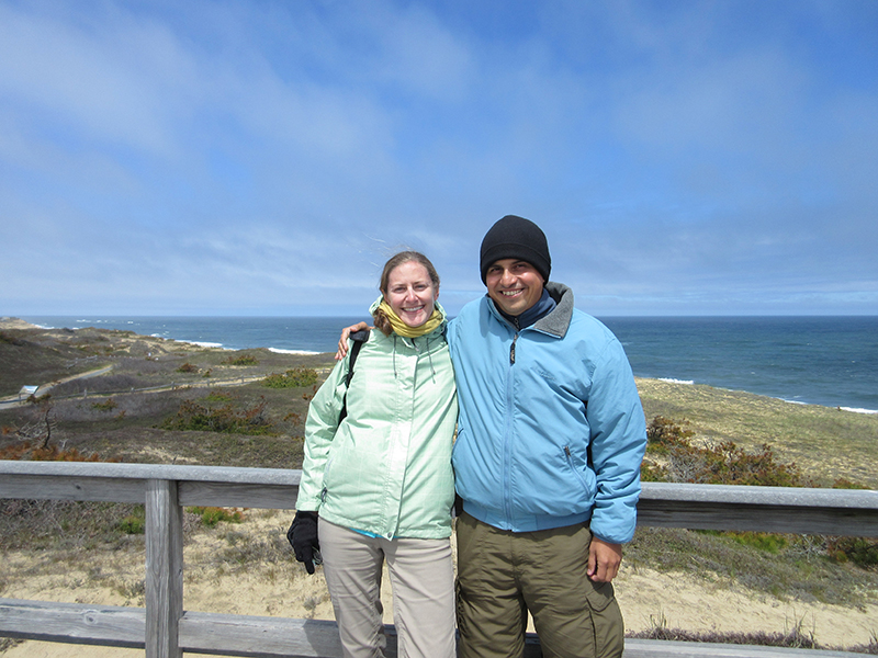 Christi & Hector at Cape Cod's Marconi Station Site