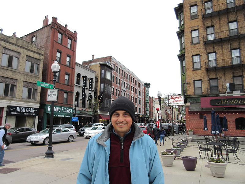 Hector in Boston's North End
