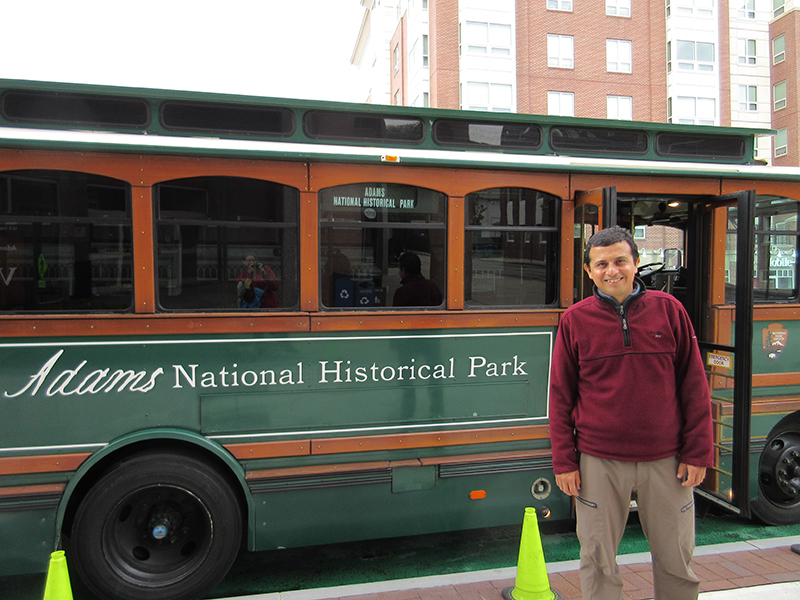 Hector at Adams National Historical Park