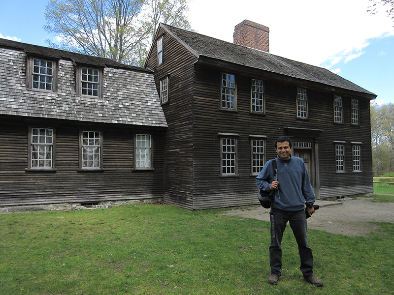 Hector at Minute Man National Historical Park's Hartwell Tavern