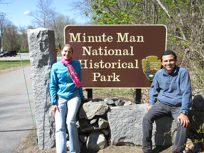 Christi & Hector at Minute Man National Historical Park