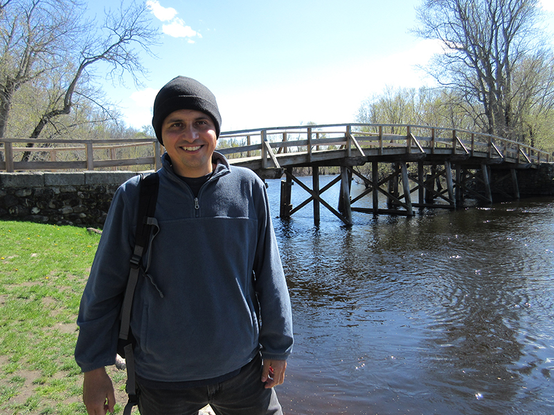Hector at Minute Man National Historical Park's North Bridge