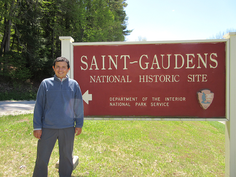 Hector at Saint-Gaudens National Historic Site