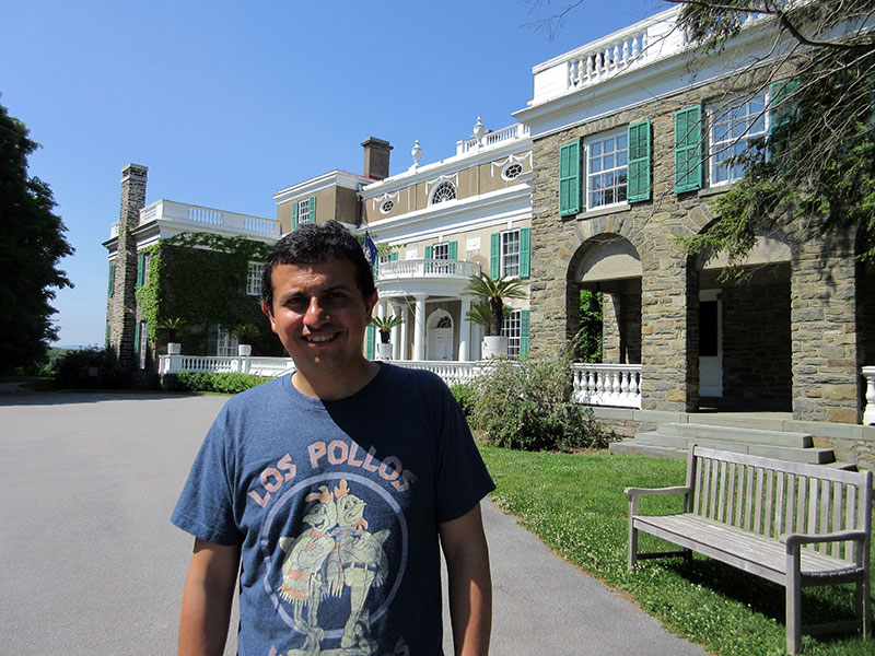 Hector at the Home of FDR National Historic Site