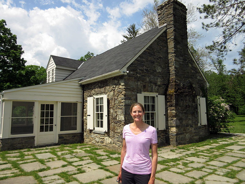 Christi at Val-Kill's Stone Cottage