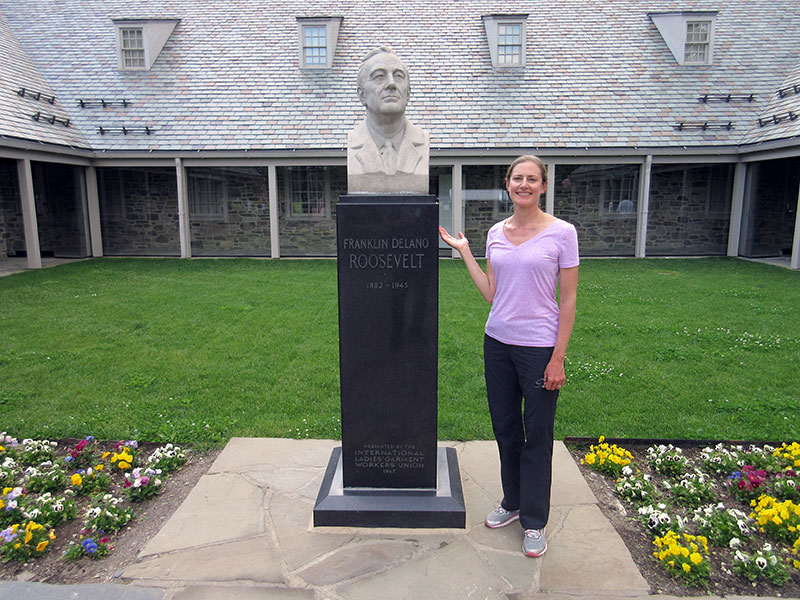 Christi at FDR Presidential Library & Museum
