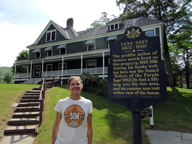 Zane Grey Museum in Lackawaxen PA