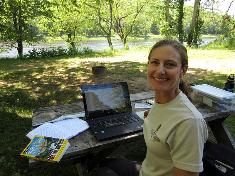Christi at Upper Delaware Scenic River