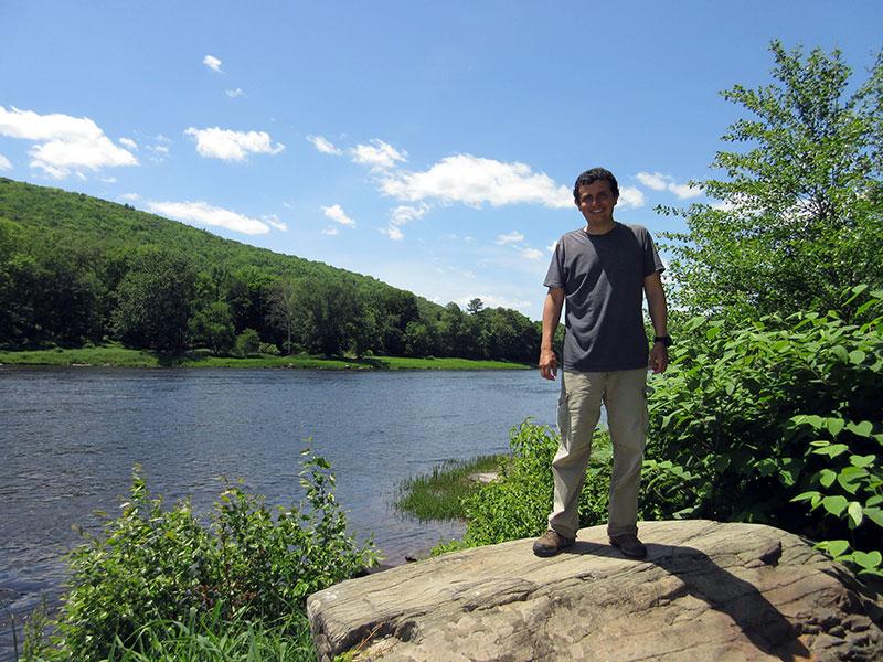 Hector at Upper Delaware Scenic River