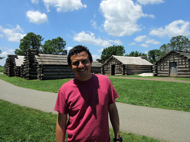 Hector at Valley Forge