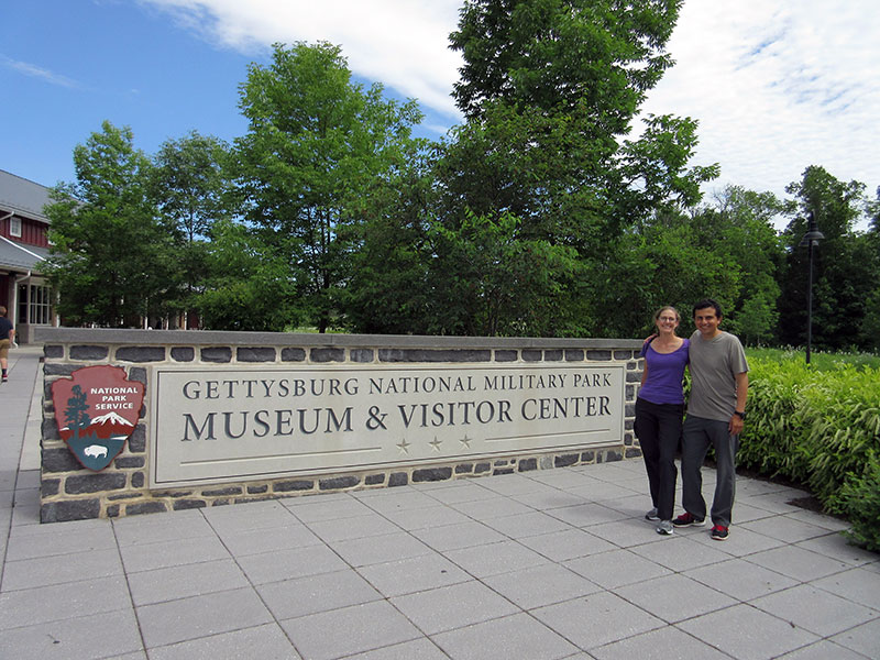 Christi & Hector at Gettysburg