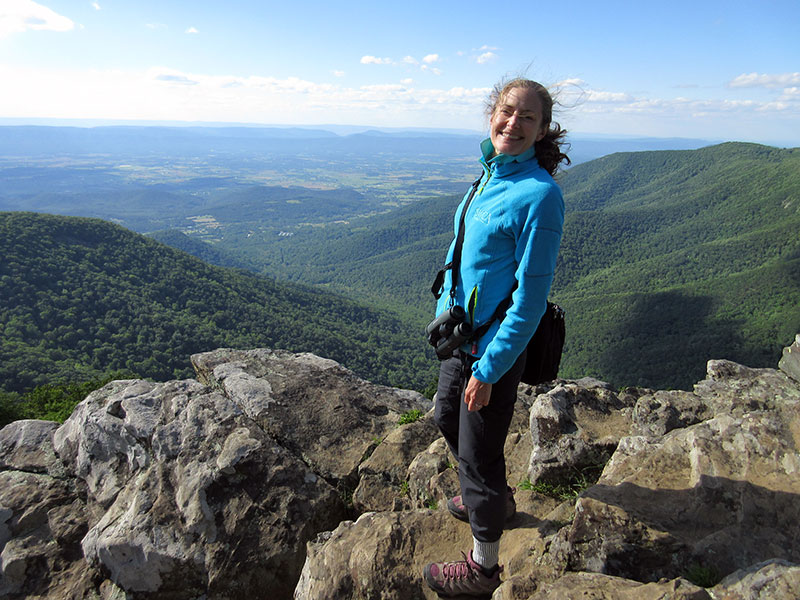 Christi in Shenandoah National Park