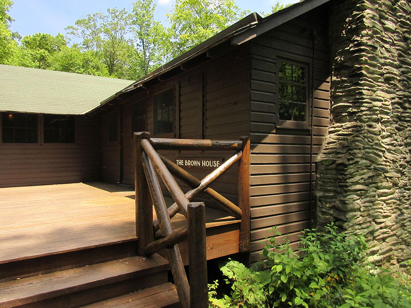Herbert Hoover's Brown House in Shenandoah National Park