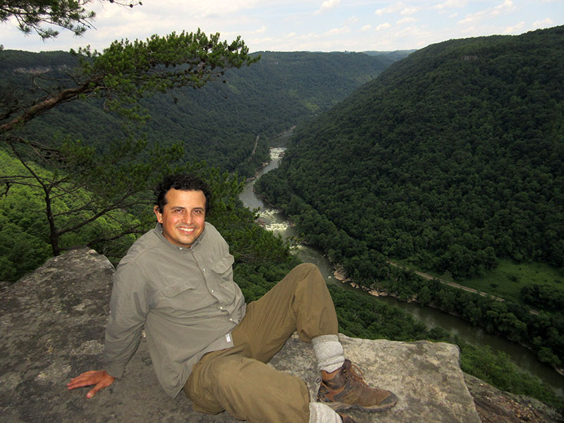 Hector at New River Gorge National River