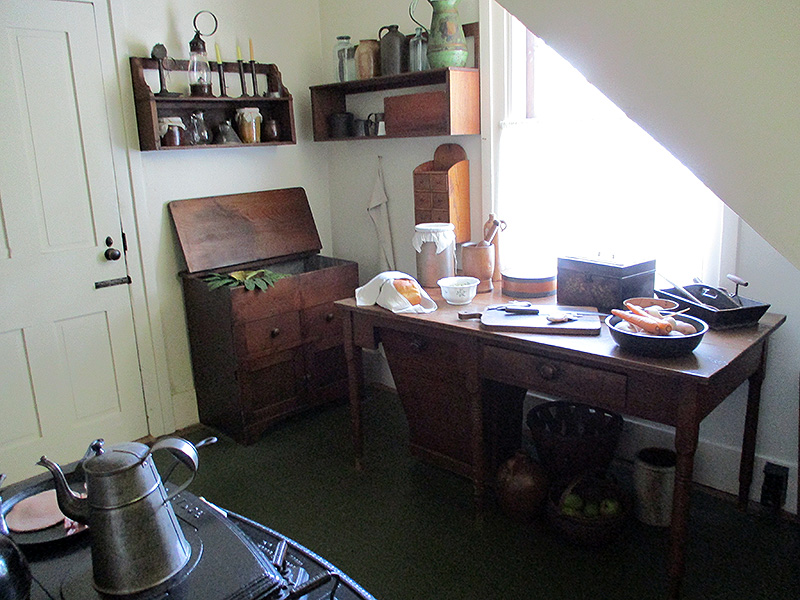 Kitchen at Lincoln Home