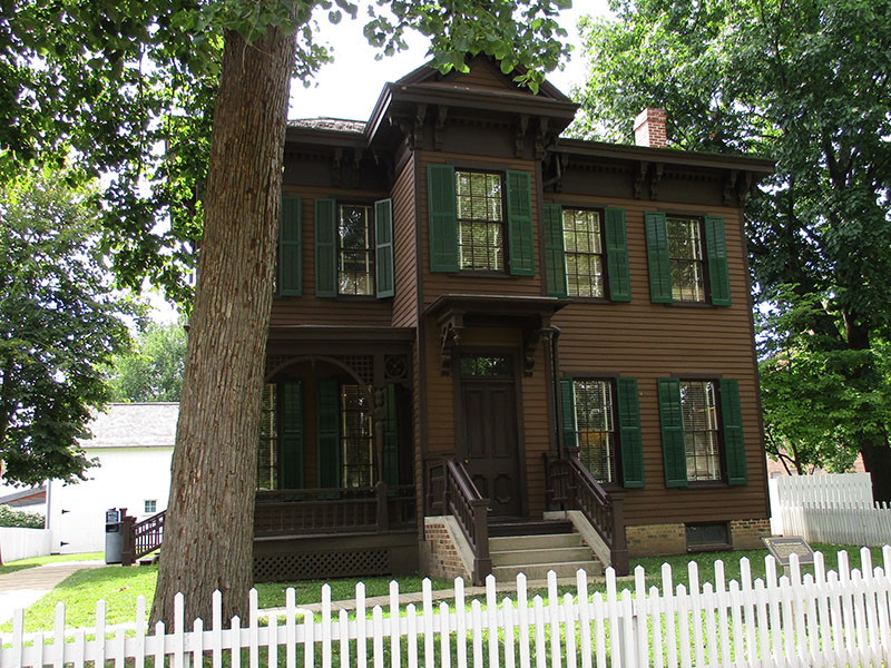 Dean House at Lincoln Home National Historic Site
