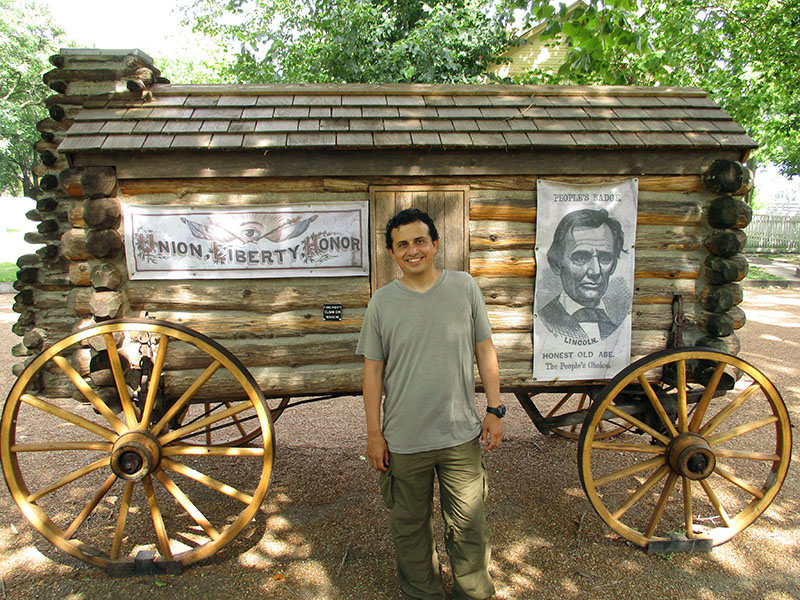 Hector at Lincoln Home National Historic Site