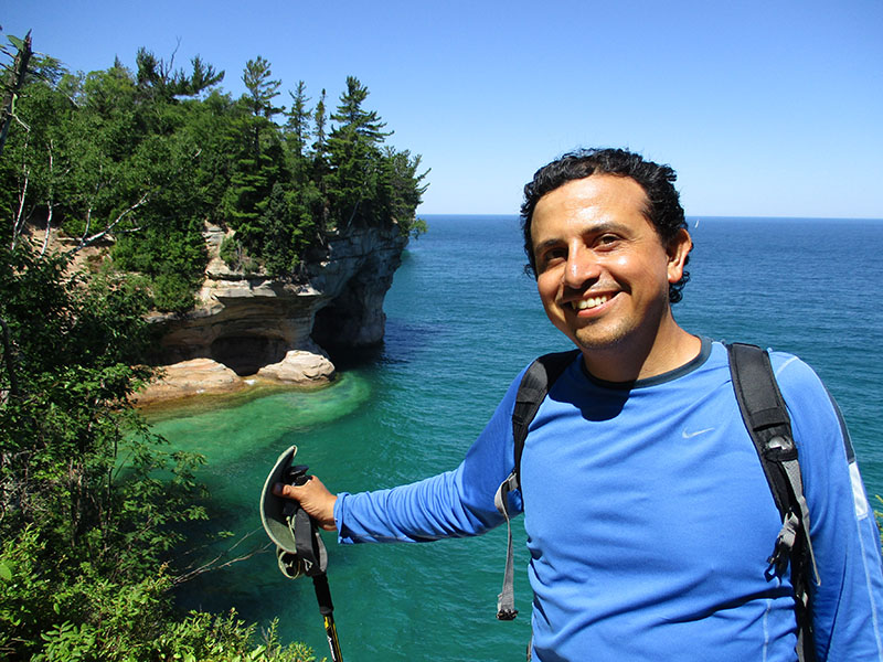 Hector at Pictured Rocks National Lakeshore