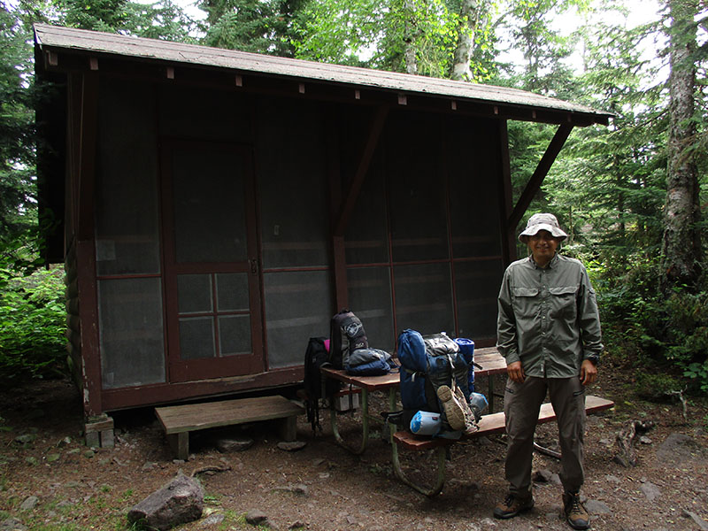 Hector at Isle Royale National Park's Three-Mile Campground