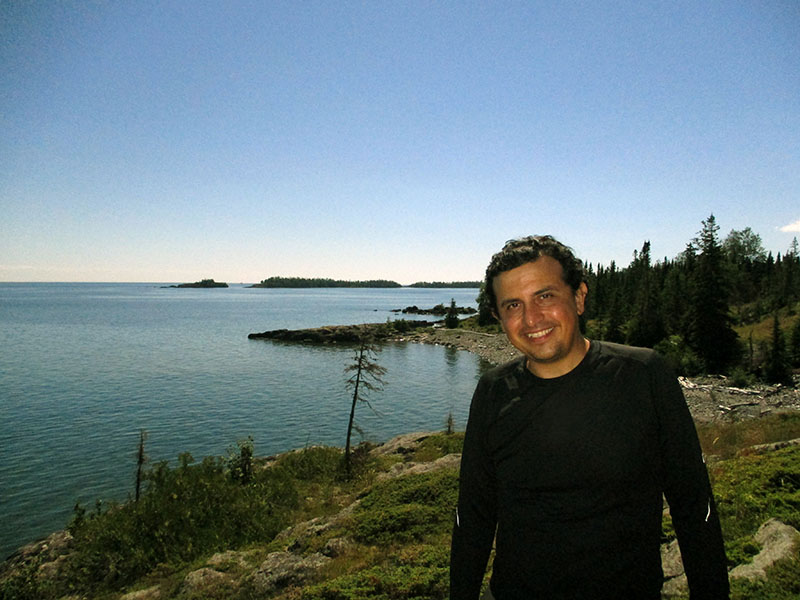 Hector on Isle Royale