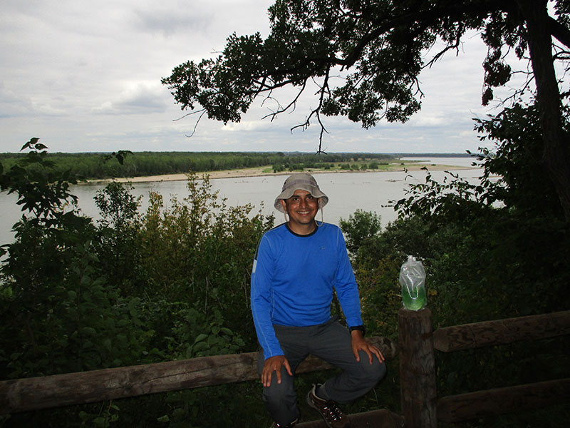 Hector at Missouri National Recreational River