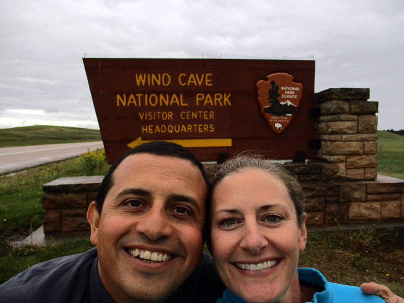 Hector & Christi at Wind Cave