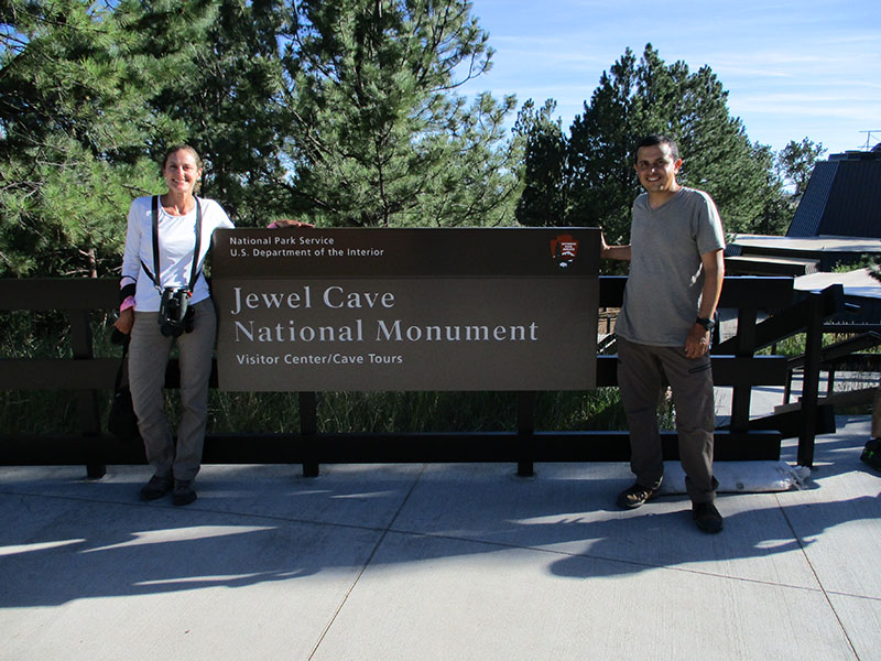 Hector & Christi at Jewel Cave