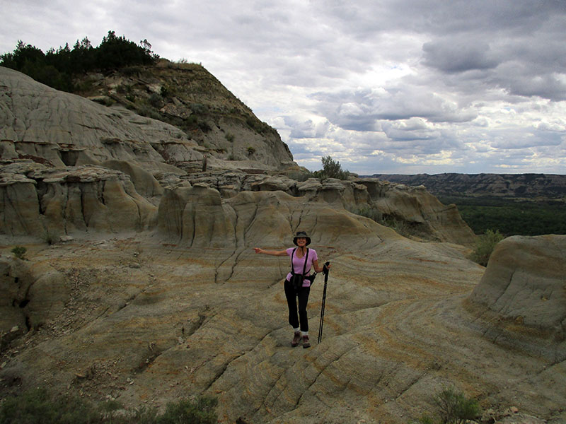 Christi in Theodore Roosevelt National Park