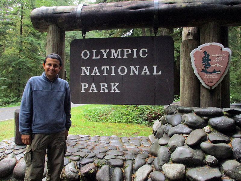Hector at Olympic National Park