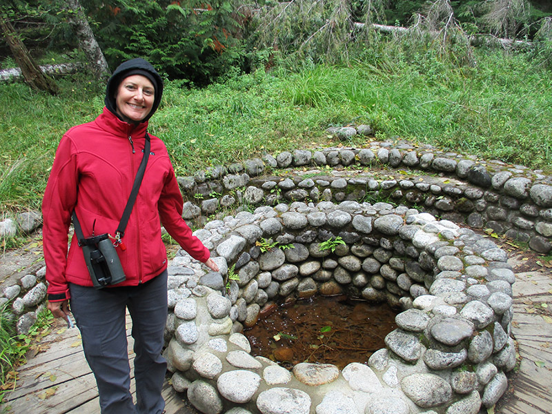 Christi in Mount Rainier's Longmire Historic District