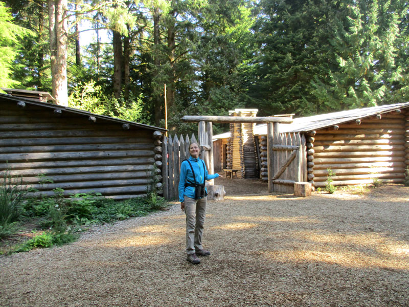 Christi at Fort Clatsop