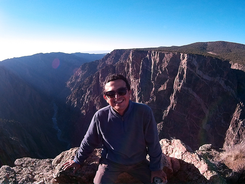 Hector in Black Canyon of the Gunnison National Park