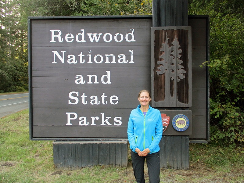 Christi at Redwood National Park