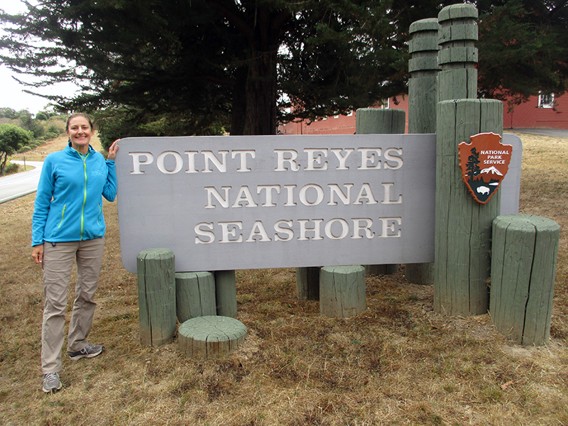Christi at Point Reyes National Seashore