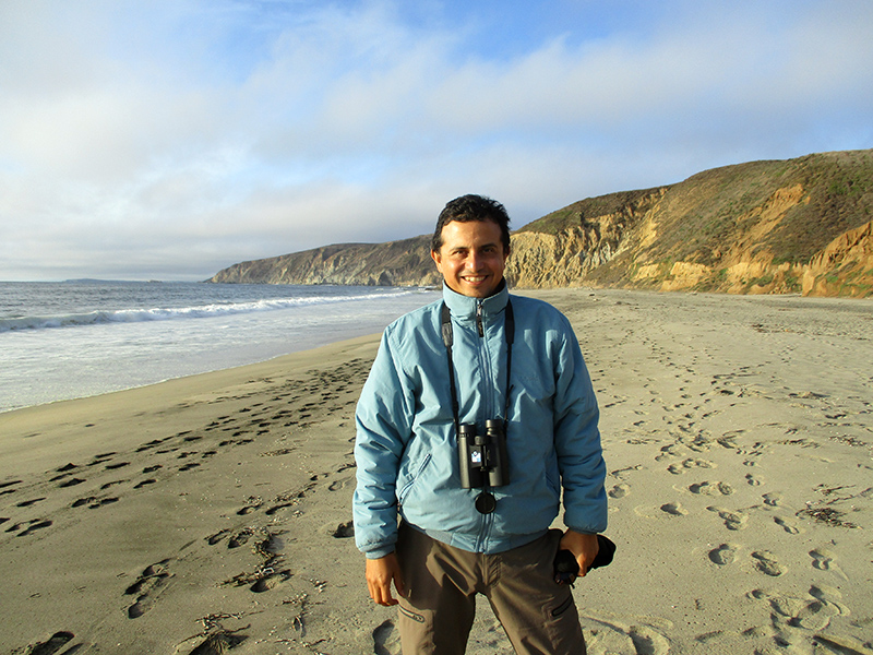 Hector at McClures Beach in Point Reyes National Seashore