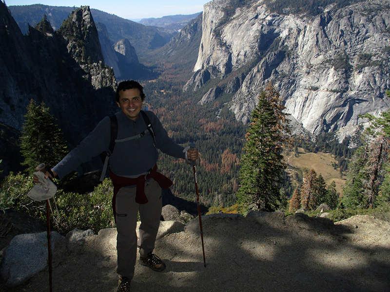Hector on Yosemite's Four Mile Trail