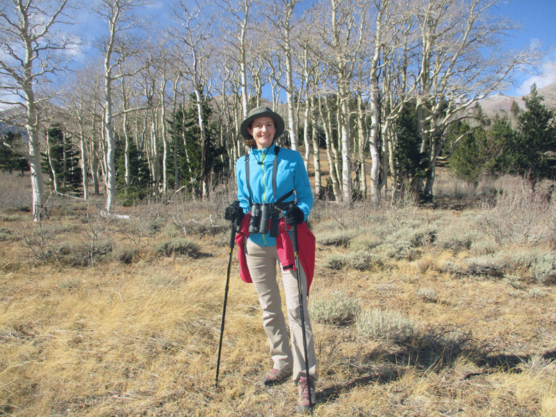 Christi in Great Basin National Park