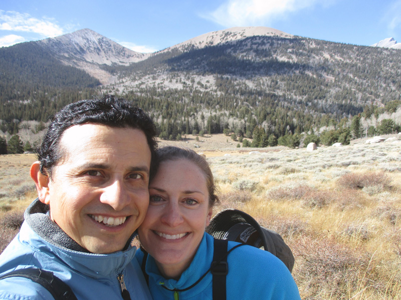 Hector & Christi in Great Basin National Park