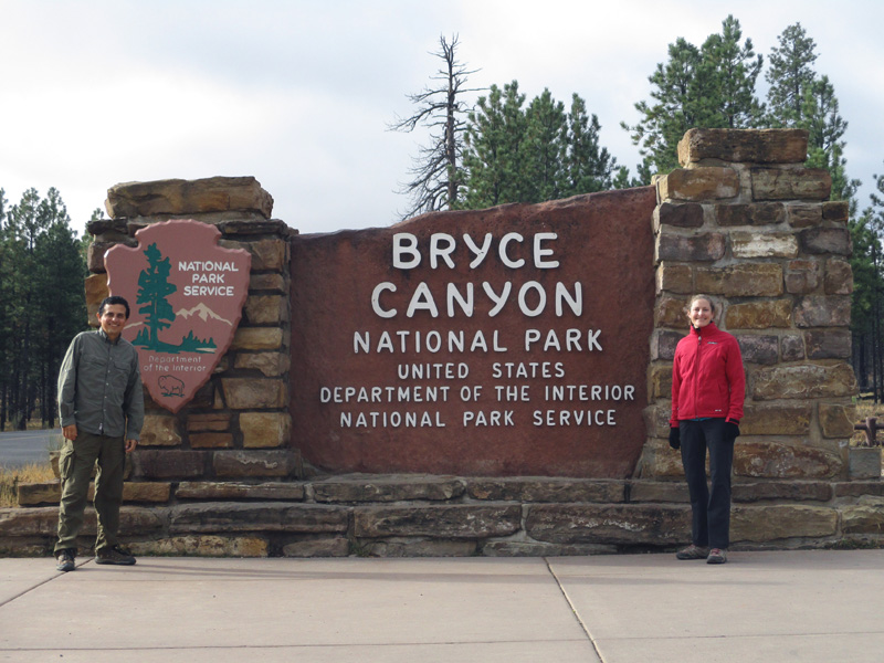 Hector & Christi in Bryce Canyon National Park
