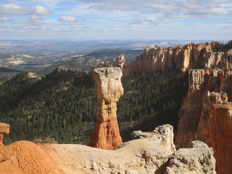 Hoodoo in Bryce Canyon National Park