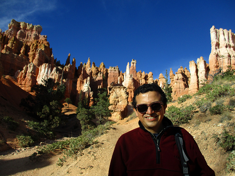 Hector in Bryce Canyon's Queens Garden